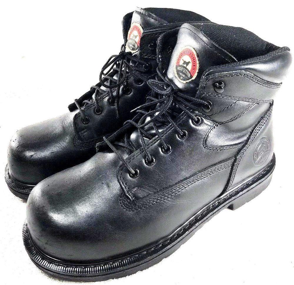 Red Wing Irish Setter Steel Toe Waterproof Work Boots Mens