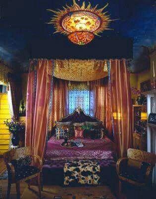 American Hippie Bohéme Boho Lifestyle ☮ Bedroom