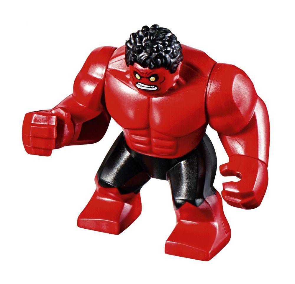 Red Hulk 76078 Red Hulk Lego Custom Minifigures Lego Iron Man