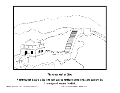 ancient chinese architecture worksheet. china wordsearch, vocabulary worksheet, crosswords: the great wall of coloring page ancient chinese architecture worksheet