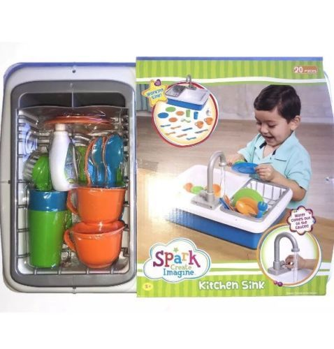 Kitchens 158746: Spark Kitchen Sink Create Imagine Kids Play Toy ...