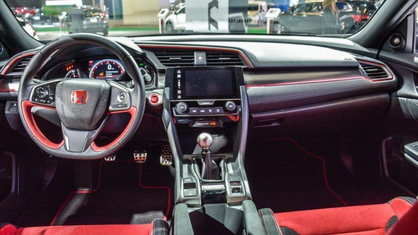 2018 Honda Civic Type R Prototype Interior Details Honda Civic Honda Civic Type R Honda Civic 2017