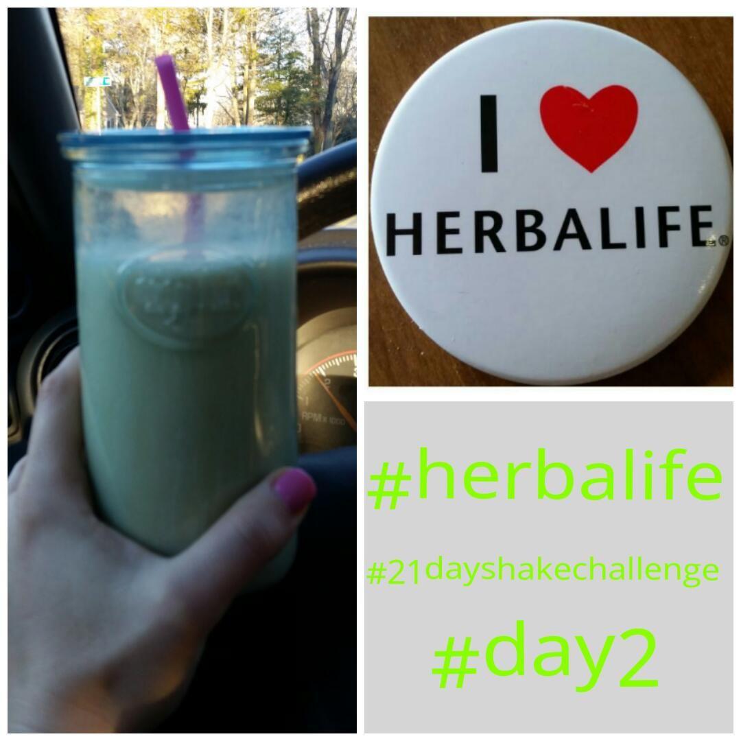 BKL: Herbalife 21 Day Shake Challenge - Day 2