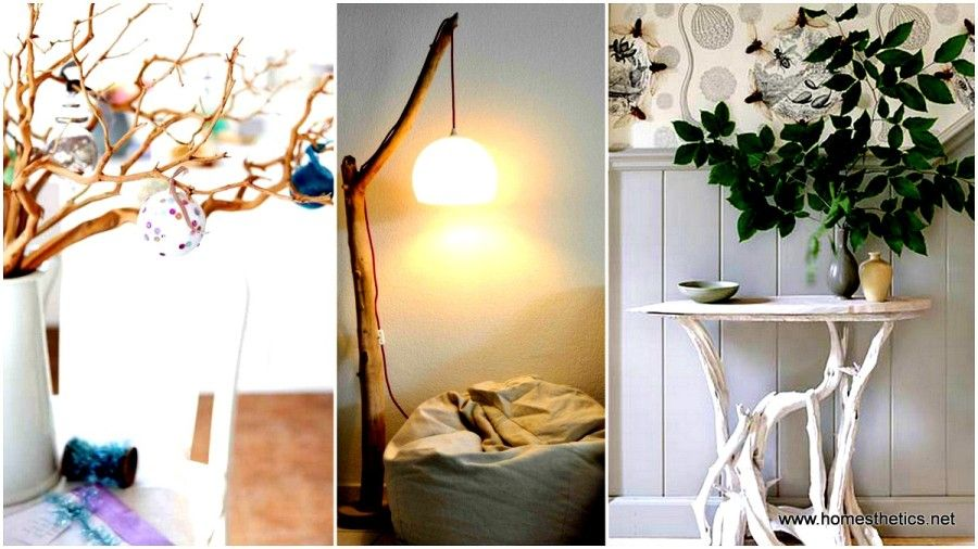 20 Insanely Creative Diy Branches Crafts Meant To Sensibilize Your Decor Home Decor Wood Lamp Design Decor