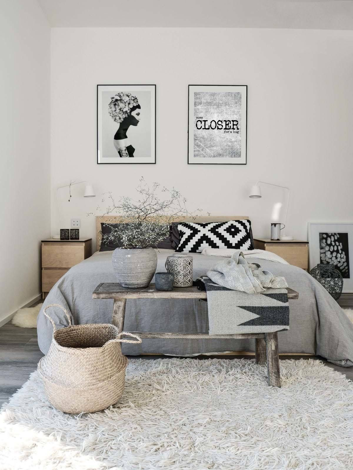 45 Scandinavian Bedroom Ideas That Are Modern And Stylish Bedroom Design Trends Remodel Bedroom Scandinavian Design Bedroom