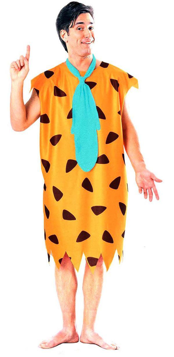 Fred Flintstone Costume Adult The Flintstones Halloween Fancy Dress