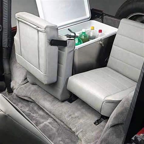 All Things Jeep Split Fold Tumble Rear Seat For 1976 2006 Jeep Cj 5 Cj 7 Cj 8 Scrambler Wrangler Yj Tj Lj Drilling Jeep Cj Jeep Seats Jeep Interiors