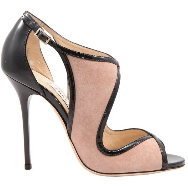 jimmy choo high heeled shoes 580 liked on polyvore. Black Bedroom Furniture Sets. Home Design Ideas
