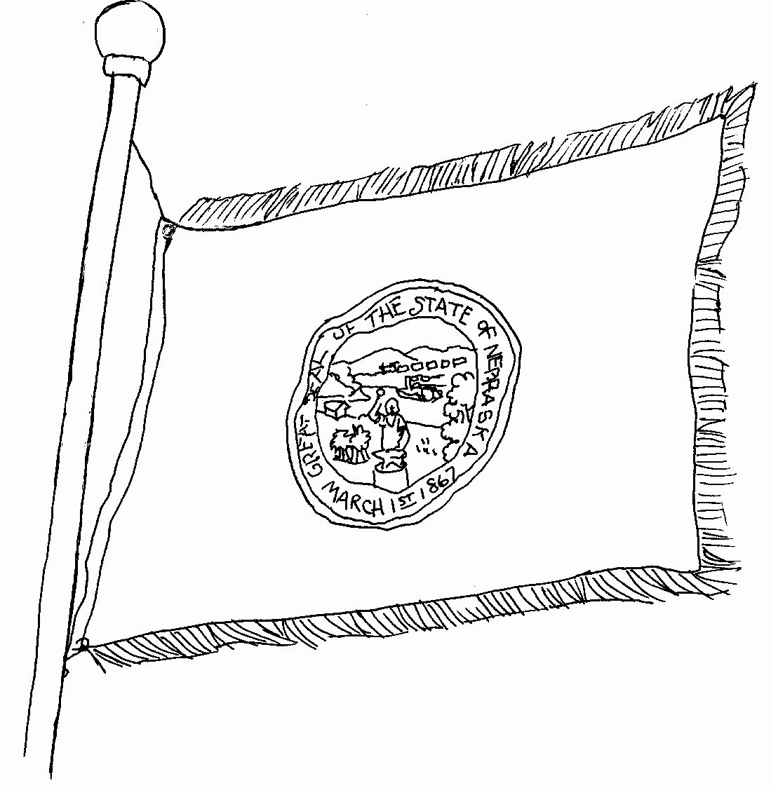 California State Flag Coloring Page Luxury Coloring Flag Coloring Pages Coloring Pages State Flags