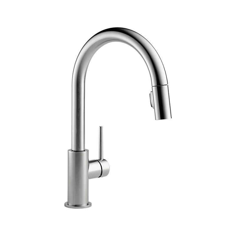 9159 Ar Dst Trinsic Single Handle Pull Down Kitchen Faucet