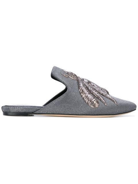 Slippers with Embroidered Details Spring/summerSanayi 313 Zhq8Yyl2