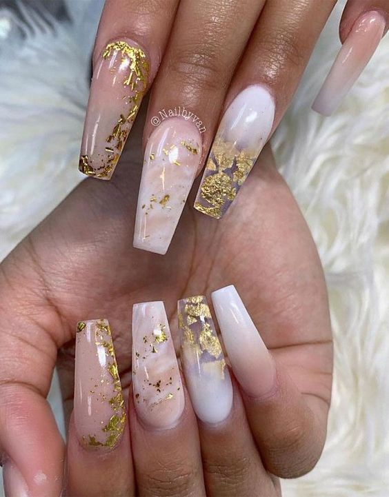 50+ Stunning Marble Nails That You'll Want To Try