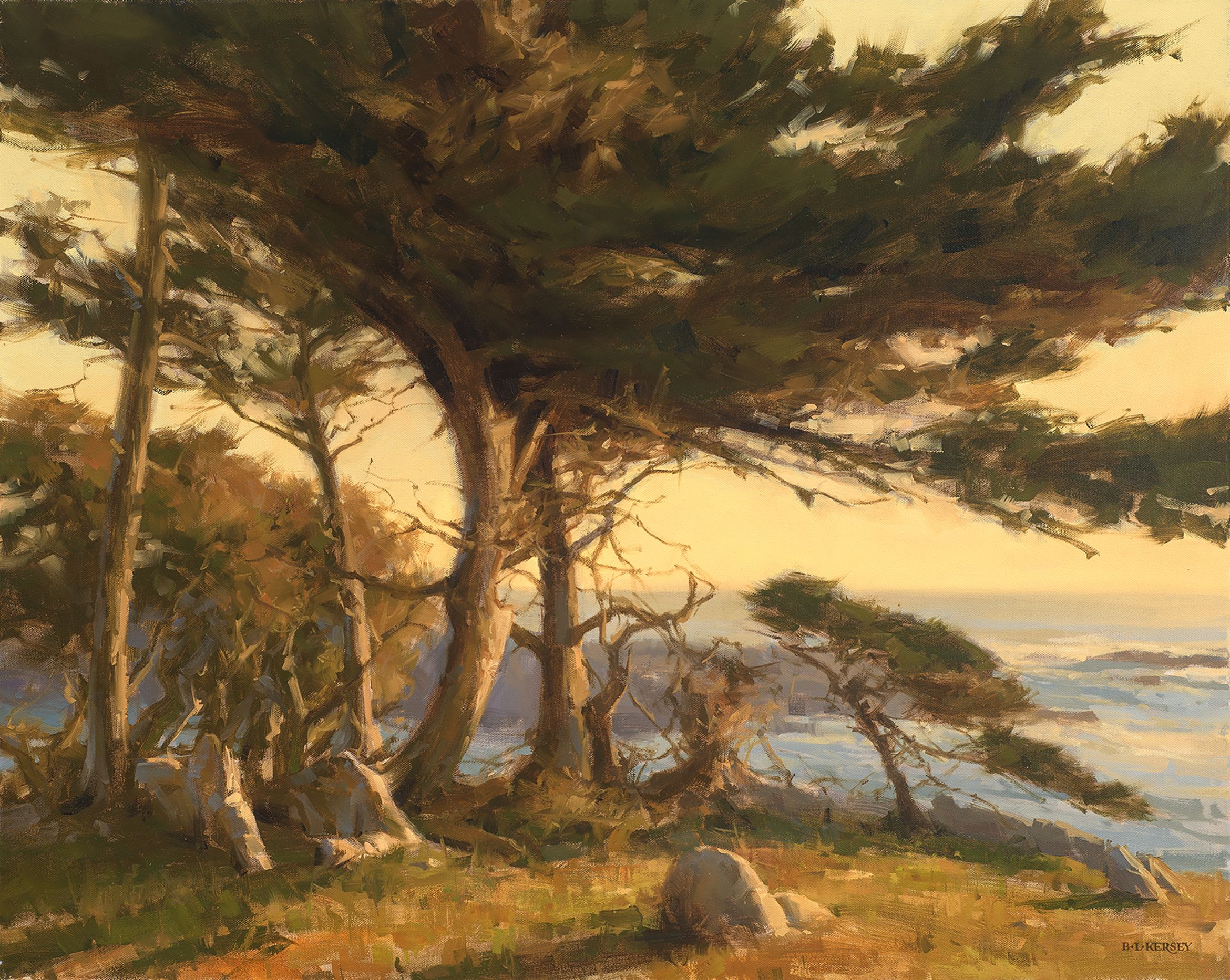 Plein Air Painting by Laurie Kersey Landscape, Southwest