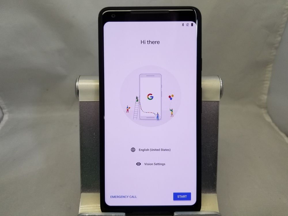 Google Pixel 2 XL G-011C 64GB Just Black Unlocked Bootloader