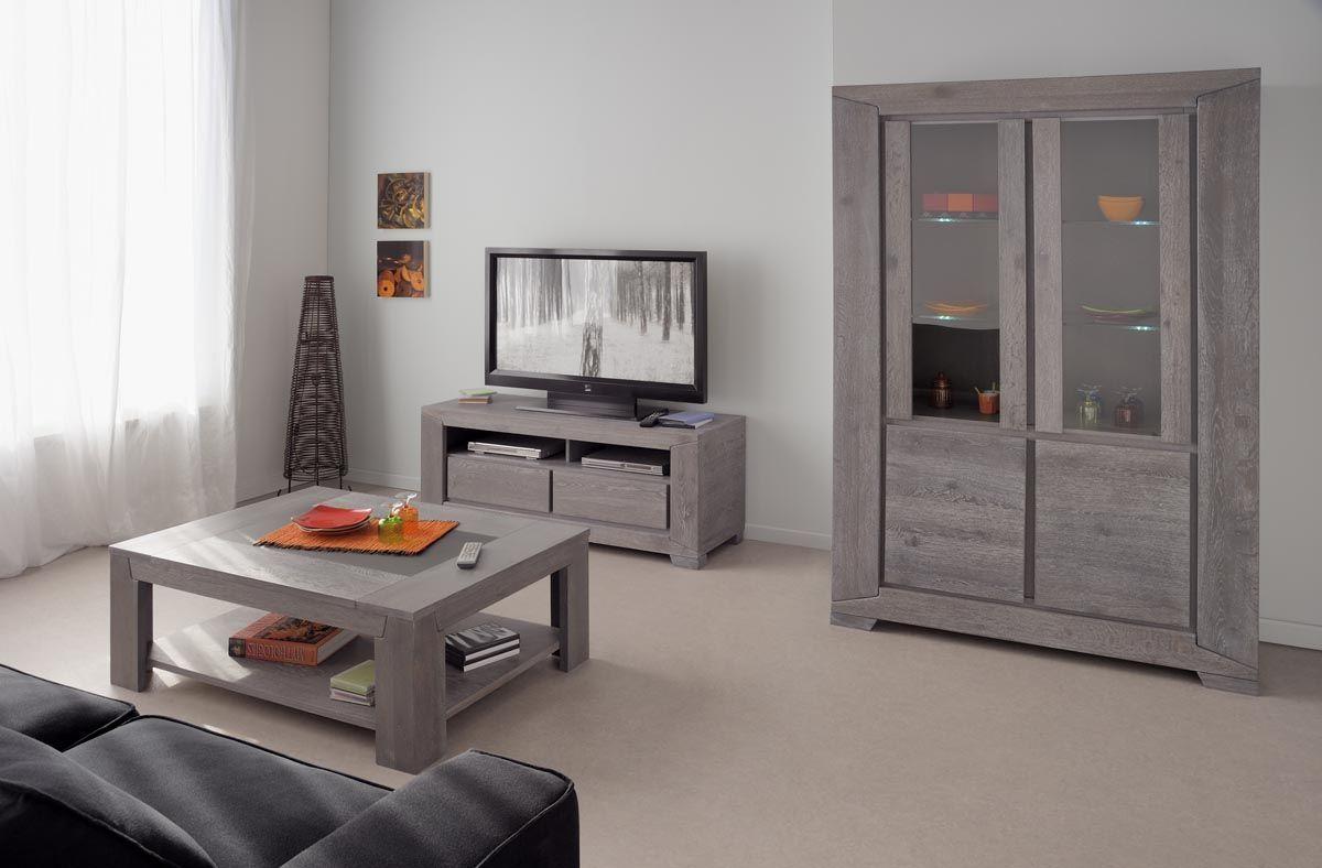 Buffet Vaisselier Design Ch Ne Gris Willow Wohnzimmer Ideen  # Meuble De Salon Interiors Vaissellier