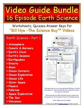 A Video Guide, Quiz for Bill Nye - Earth Science Part 1 ...