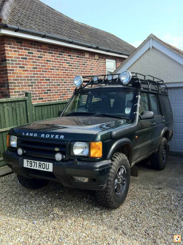 Old Smokey Land Rover Land rover discovery Land rover