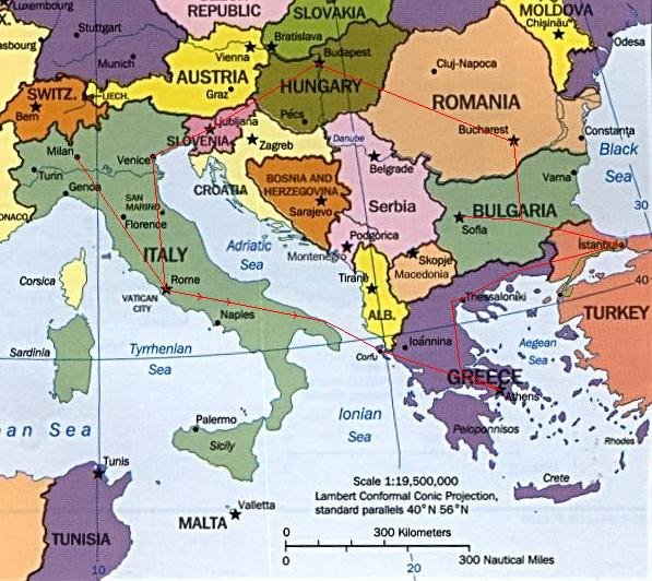 Map Of The Balkans Slovenia Croatia Bosnia Serbia Macedonia Montenegro Albania Greece Turkey Bulgaria Sarajevo Bosnia Croatia Balkan