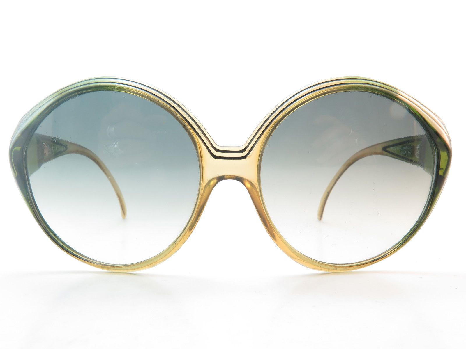 f9298c1a18552b Vintage 70s Christian Dior Sunglasses Green Mod 2045 Col 60 Made in Germany    eBay