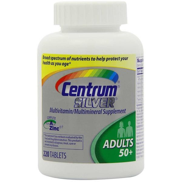 Centrum Silver Multivitamin $4 00 Off With Printable Coupon
