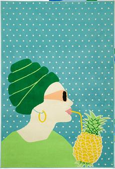 //Pineapple Lady Rug || IKEA- http://www.ikea.com/us/en/catalog/products/10240170/#