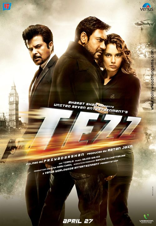 Brand New Poster Of Tezz Hindi Movies New Movies To Watch Hindi Movies Online
