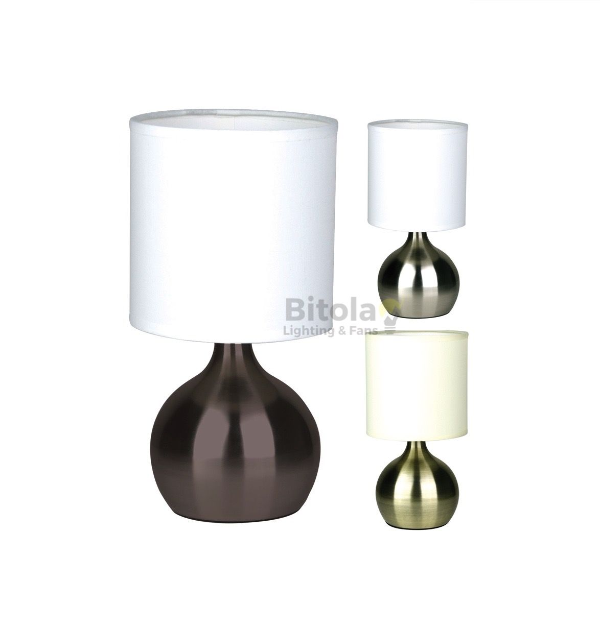 Lotti Touch Table Lamp 3 Colours Oriel Lf9201 38 00 Touch Table Lamps Lamp Touch Lamp