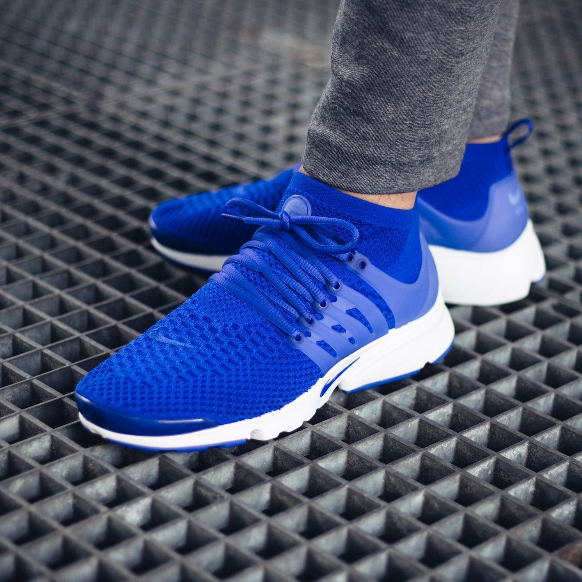 Keep It Royal With The Nike Air Presto Flyknit Ultra Racer Blue •  KicksOnFire.com