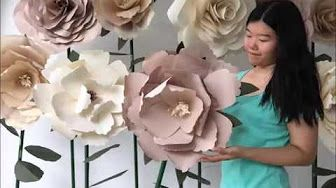 Diy giant free standing tissue paper flowers youtube paper and diy giant free standing tissue paper flowers youtube mightylinksfo