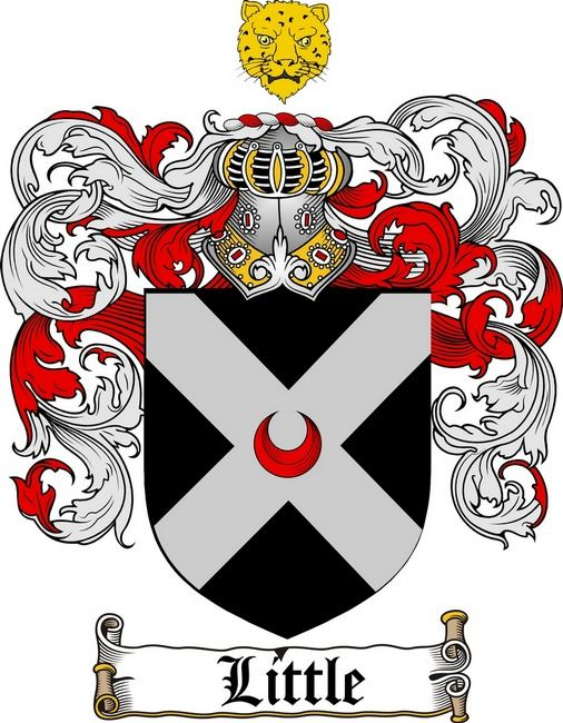 Little Coat Of Arms Little Family Crest Family Crest Coat Of Arms Family Shield
