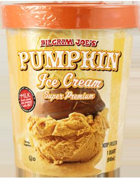 Trader Joe's Pumpkin Ice Cream