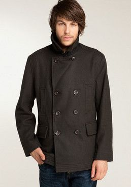 Classic Peacoat by Ben Sherman. Great Color!