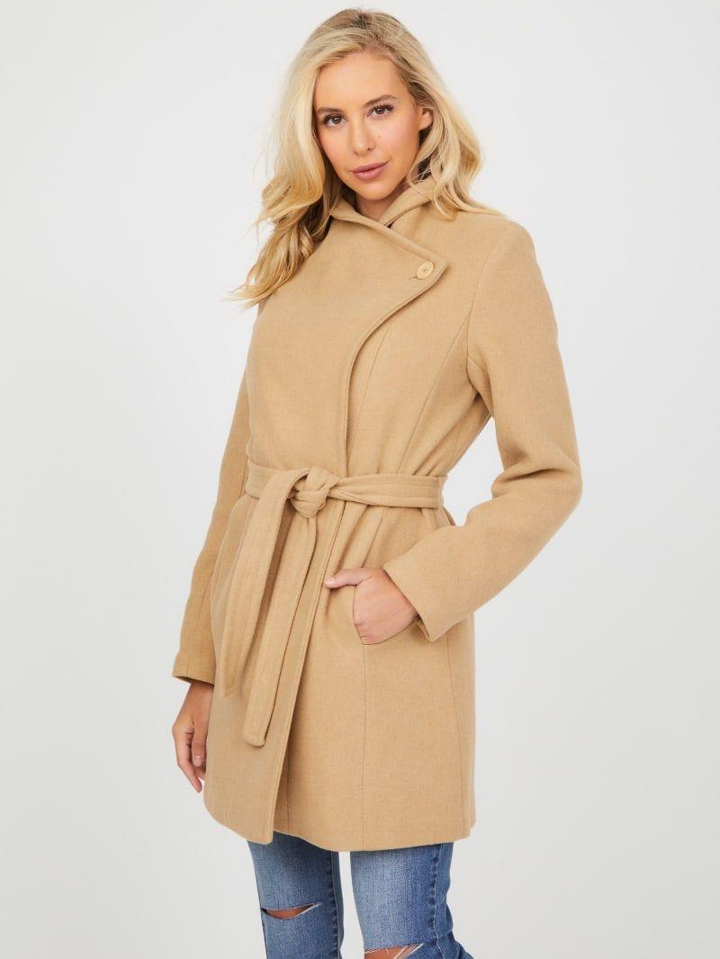 Mandy Faux Fur Collar Coat Collared Coat Fur Collar Coat Faux Fur Collar Coat [ 1066 x 800 Pixel ]