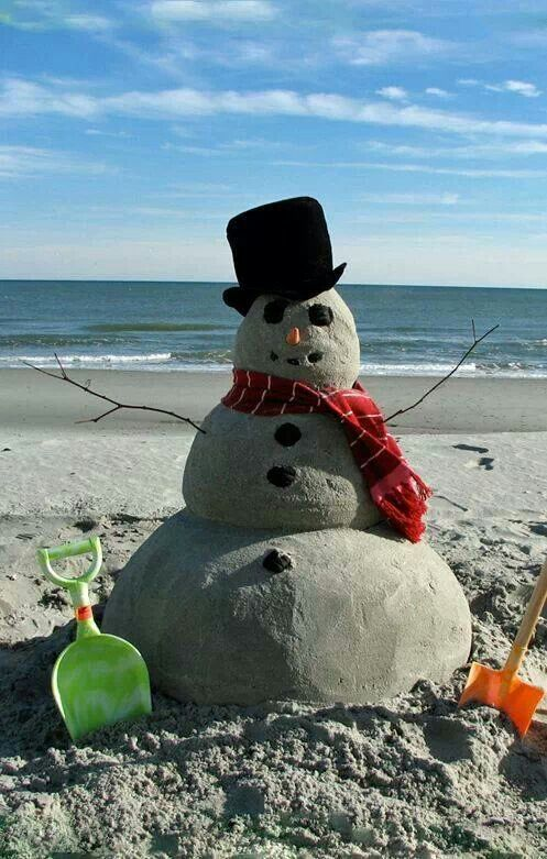 My kind of snowman!