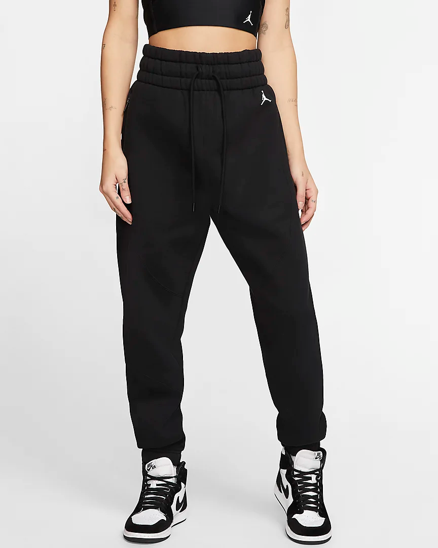 Pantalones De Tejido Fleece Para Mujer Jordan Nike Cl Pantalones De Moda Pantalones De Lana Pantalones De Chandal