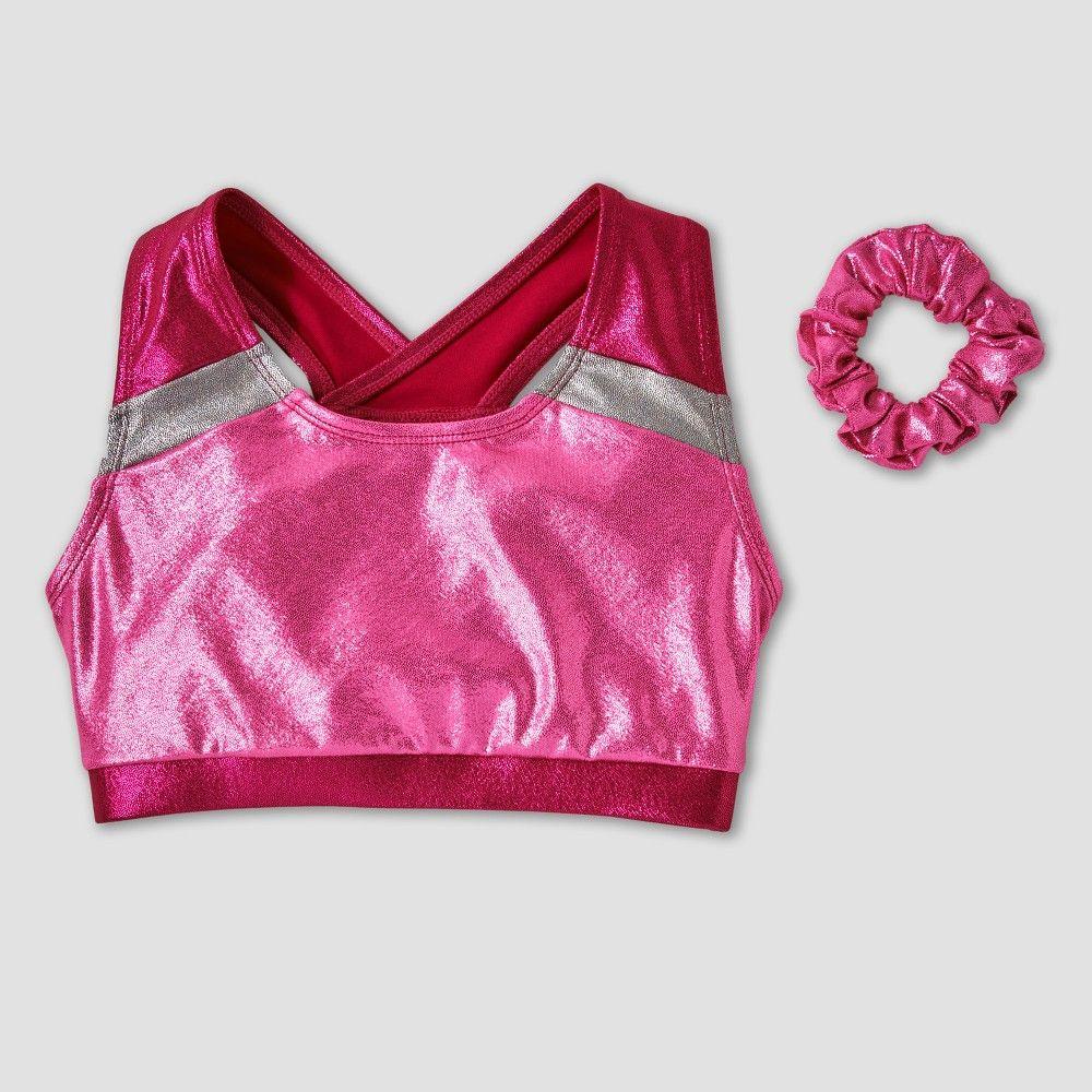 Girls' Freestyle by Danskin Elite Gymnastics Bra Top