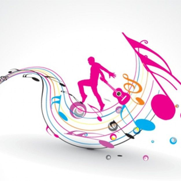 Colorful Music Note Design | www.pixshark.com - Images ...