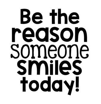 Be the Reason Someone Smiles Today! Bulletin Board Kit