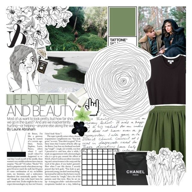 """""""↪IT ALWAYS SEEMS IMPOSSIBLE, UNTIL IT'S DONE"""" by pipa-mata ❤ liked on Polyvore featuring Chanel, Assouline Publishing and Nomia"""