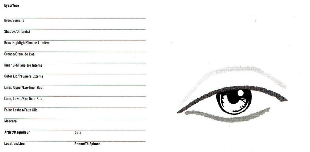 Eye Chart Make Up  Google Zoeken  Charts    Face Charts