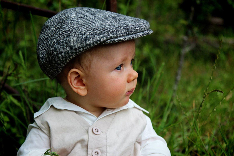 3360ee20 Baby winter hat black tweed newsboy hat wool baby flat cap winter gift for  baby boy winter baby photo prop - made to order (41.00 USD) by DakkoBabySC