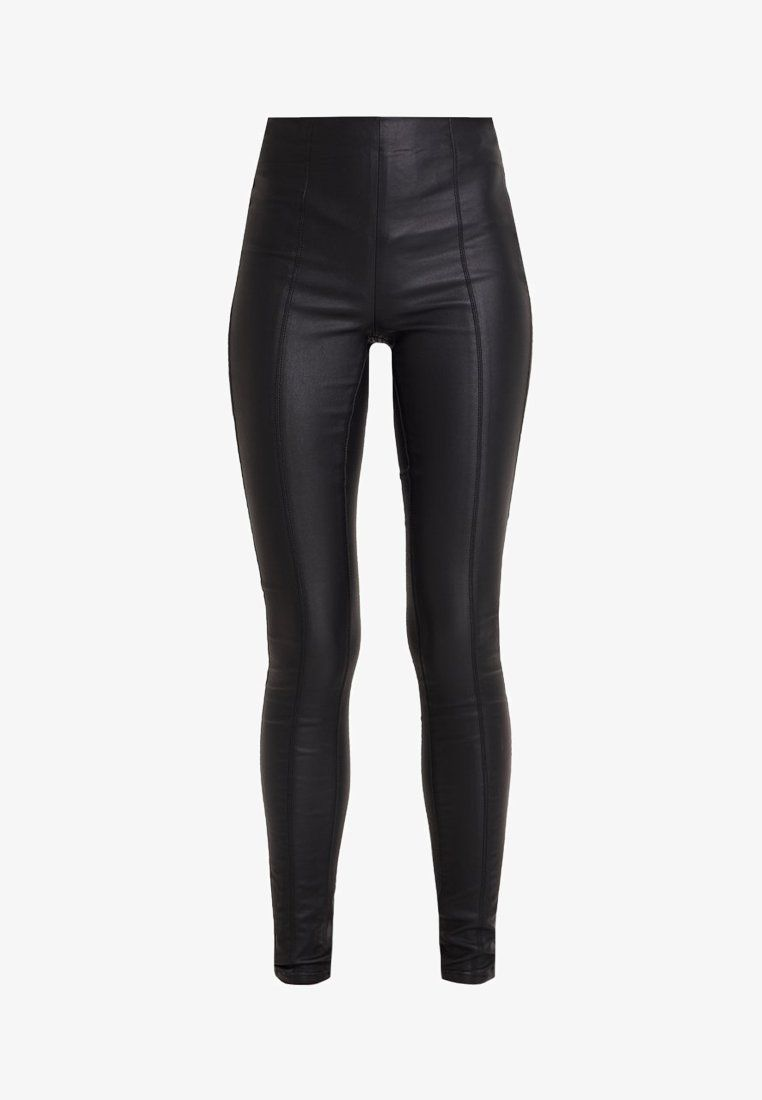 d3380d22b29 ONLIZABEL COATED - Leggings - Trousers - black @ Zalando.co.uk 🛒 in ...