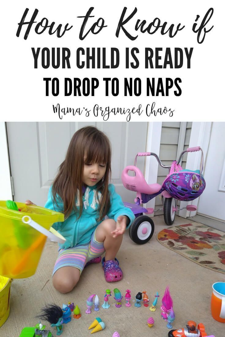 How To Know If Your Child is Ready To Drop To No Naps | Mama's Organized Chaos    #naps #babywise #droppingnaps #preschool #toddler #sleep