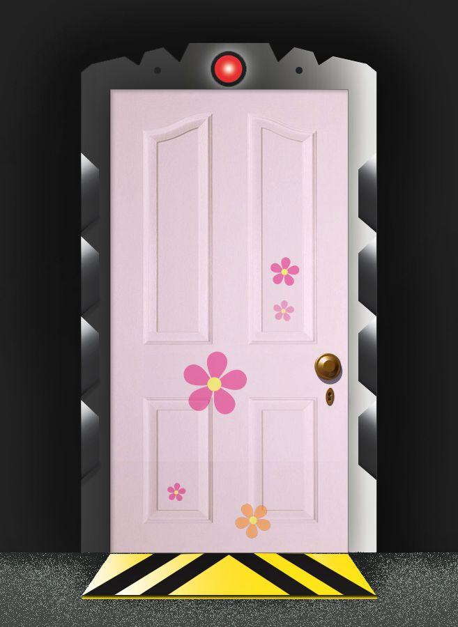 From Monsters Inc Boos Door Monsters Inc Halloween Monsters Inc Doors Monsters Inc