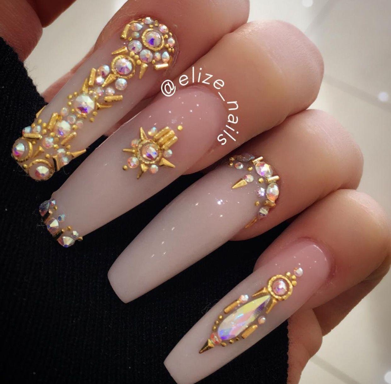 Pin by Yamilet Cruz on Nails | Pinterest | Nail inspo, Nails ...