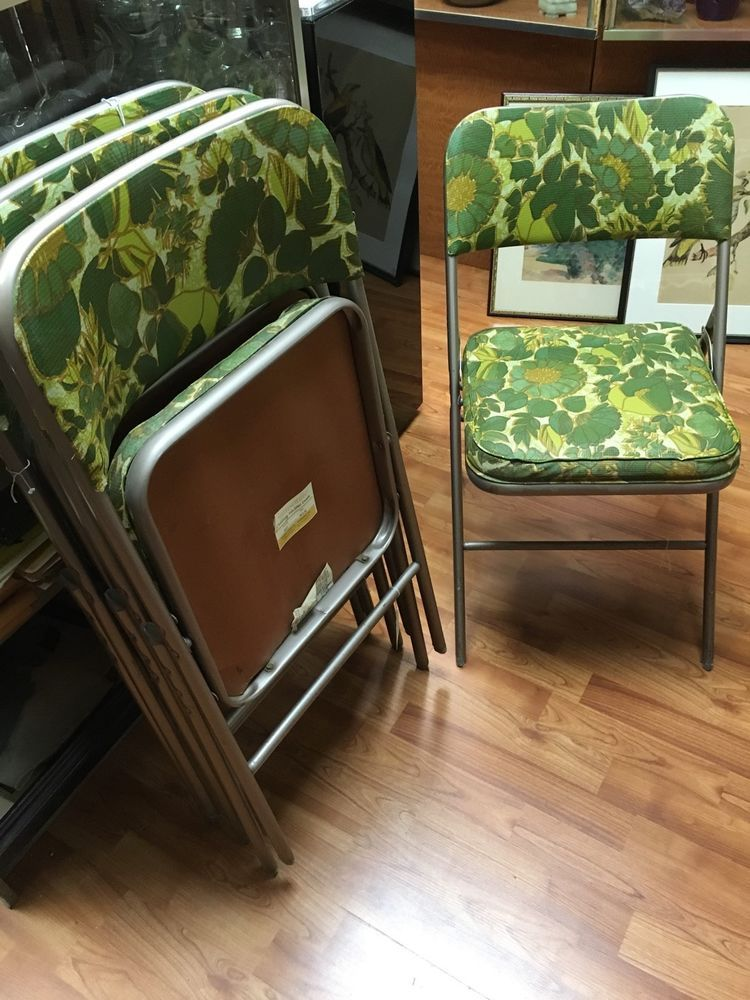 Awesome Details About Set Of 4 6 Folding Chairs Fabric Upholstered Cjindustries Chair Design For Home Cjindustriesco