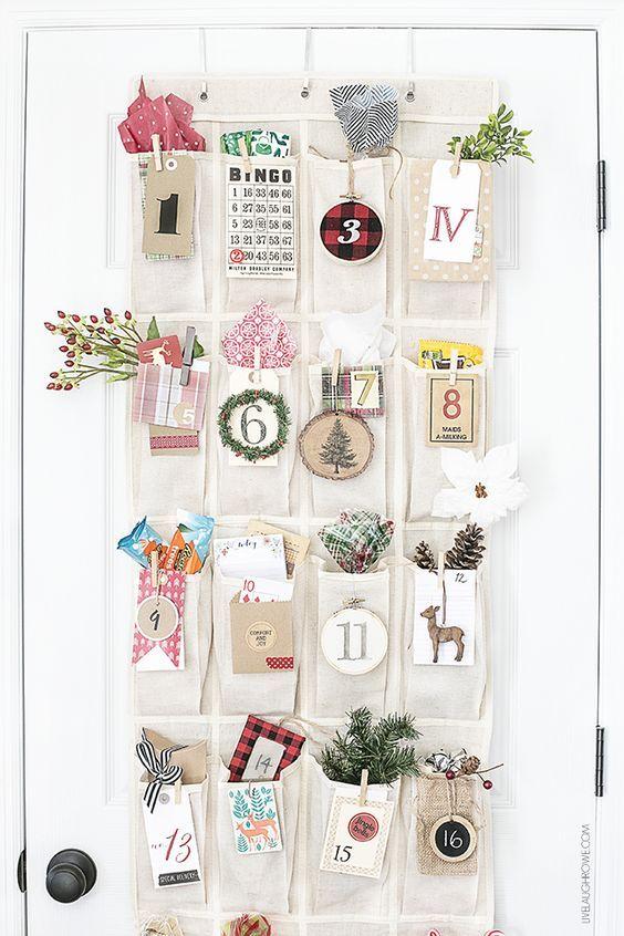 Unique Ways To Make A DIY Christmas Advent Calendar