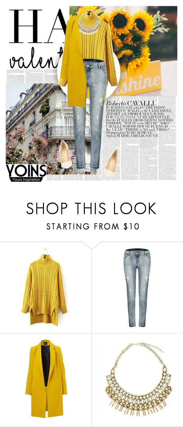 """Yoins 30/1"" by worldoffashionr ❤ liked on Polyvore featuring Christian Louboutin, vintage, women's clothing, women, female, woman, misses, juniors and yoins"