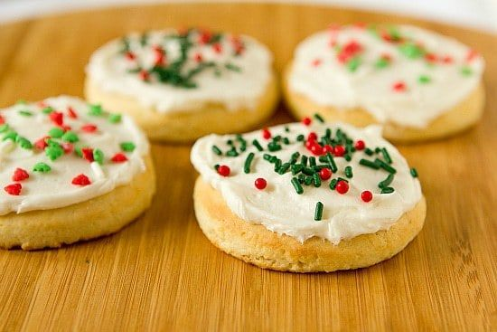 Lofthouse Style Frosted Sugar Cookies Cookies Pinterest