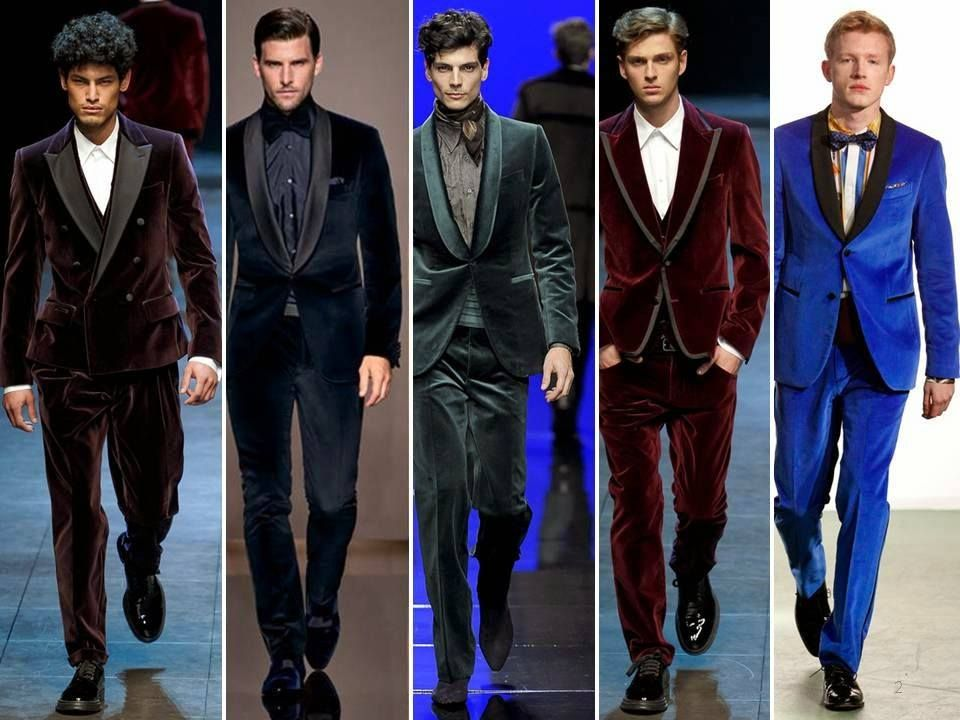 Men Velvet Blazer Outfits-17 Ideas on How to Wear Velvet Blazer ...